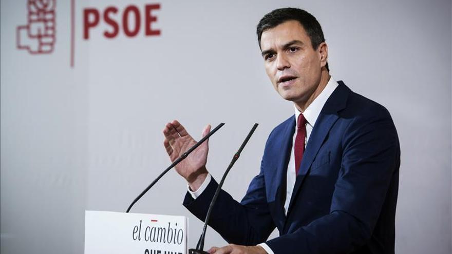 El PSOE presenta la plataforma de personalidades que apoyan a Pedro Sánchez