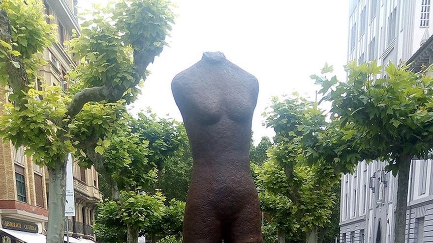 El Gobierno de Navarra repondrá la placa sustraída del monumento 'Gogoan'