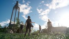 Final Fantasy XV quiere parecerse a The Last of Us