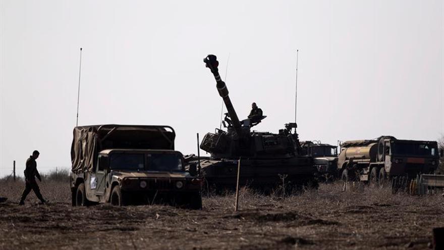 Aviones israelíes bombardean polvorines de Hizbulá cerca de Damasco