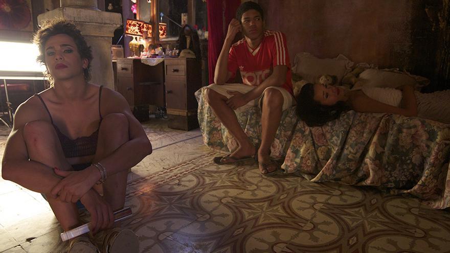 Reinaldo y Yuni en 'El Rey de La Habana'