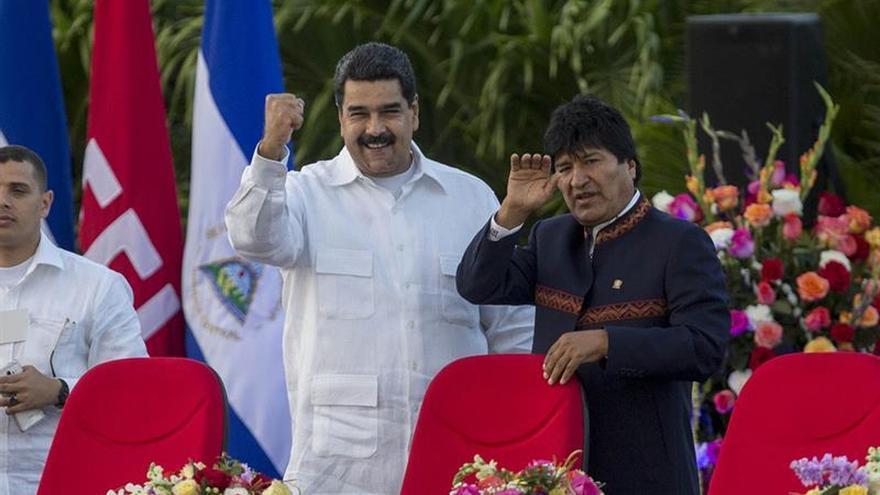 Morales, Maduro y Fernández felicitan a Moreno tras las elecciones en Ecuador