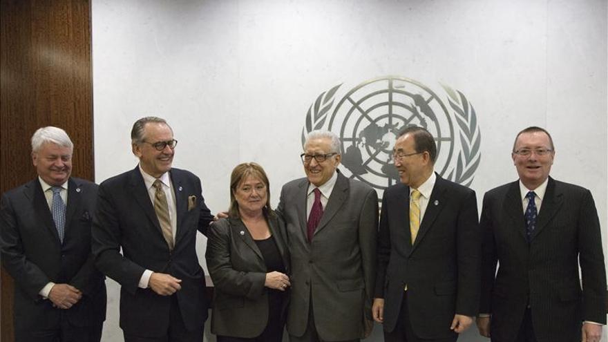 Ban Ki-moon y Lajdar Brahimi lamentan la falta de respuesta internacional a la guerra siria