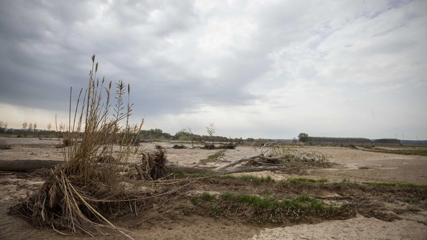 Novillas fue uno de los municipios más afectados por las riadas.