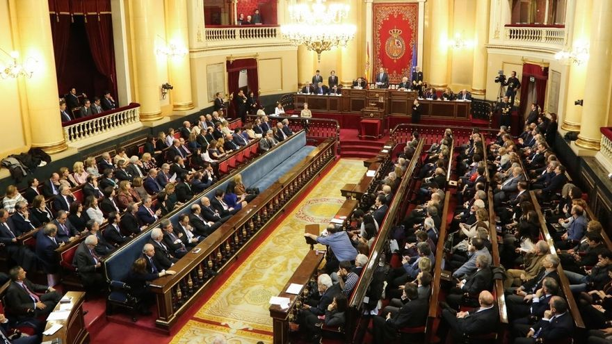 El 65% de los senadores se ha acreditado ya, a una semana de la constitución de la Cámara Alta