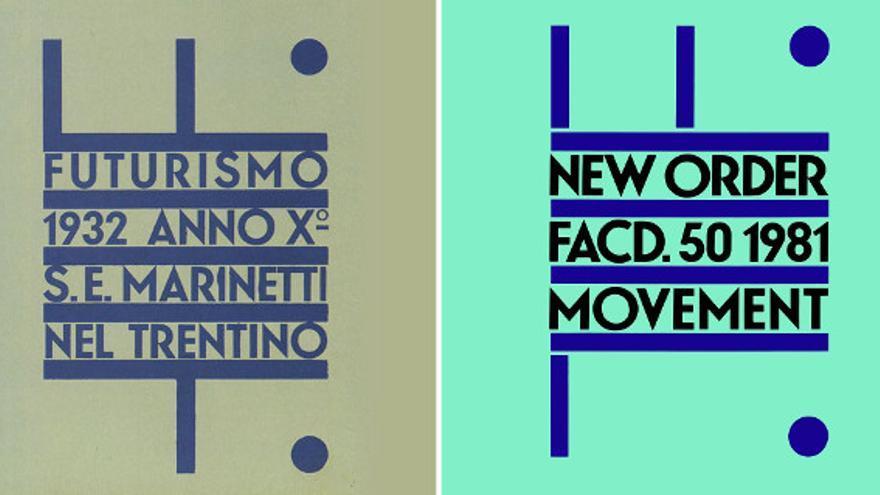 Marinetti nel Trentino (Depero, 1932) -  Movement (New Order, 1981)