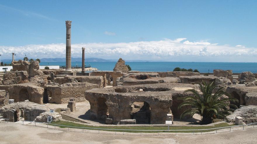 Restos de las Termas de Antonio, en la antigua ciudad de Cartago. Institute for the Study of the Ancient World