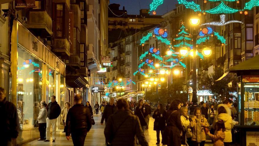 Santander recibe la Navidad el jueves con el tradicional encendido de luces