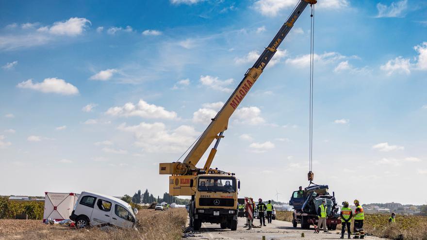Tres fallecidos y cuatro heridos graves en una colisión en Lillo (Toledo)
