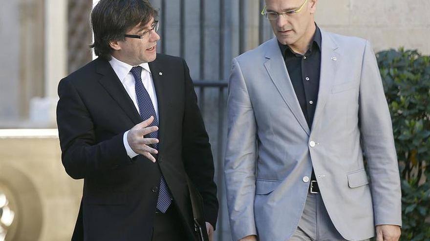 El Constitucional levanta parcialmente la suspensión sobre la Conselleria catalana de Exteriores
