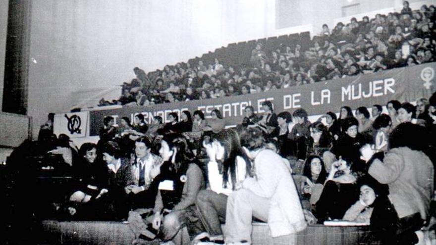 """""""II Jornadas Estatales de la Mujer"""". Granada, 1979. Asamblea de Mujeres de Granada AMG."""