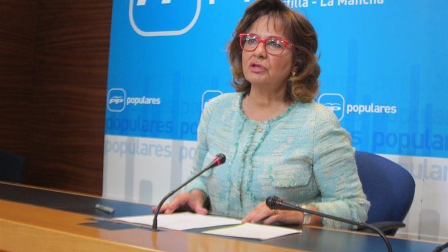 La portavoz del PP de Castilla-La Mancha, Carmen Riolobos / Foto. EP