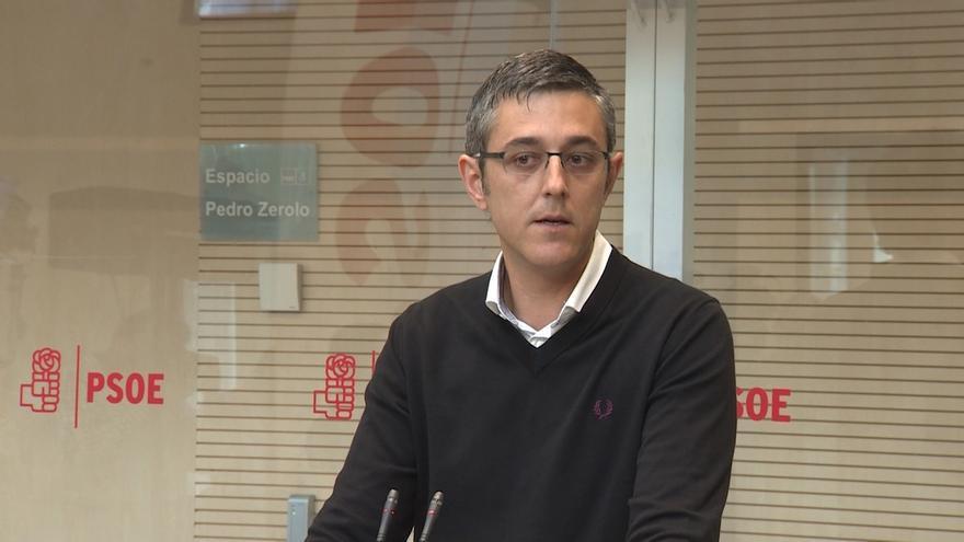 """Eduardo Madina, sobre el 'tramabús' de Podemos: """"El respeto lo dan los trienios de participación democrática"""""""