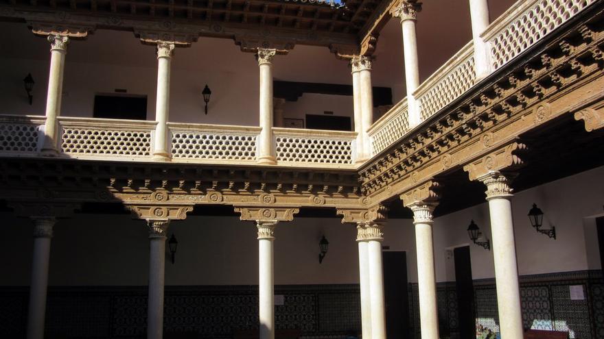 Patrio del Palacio de Antonio de Mendoza en Guadalajara