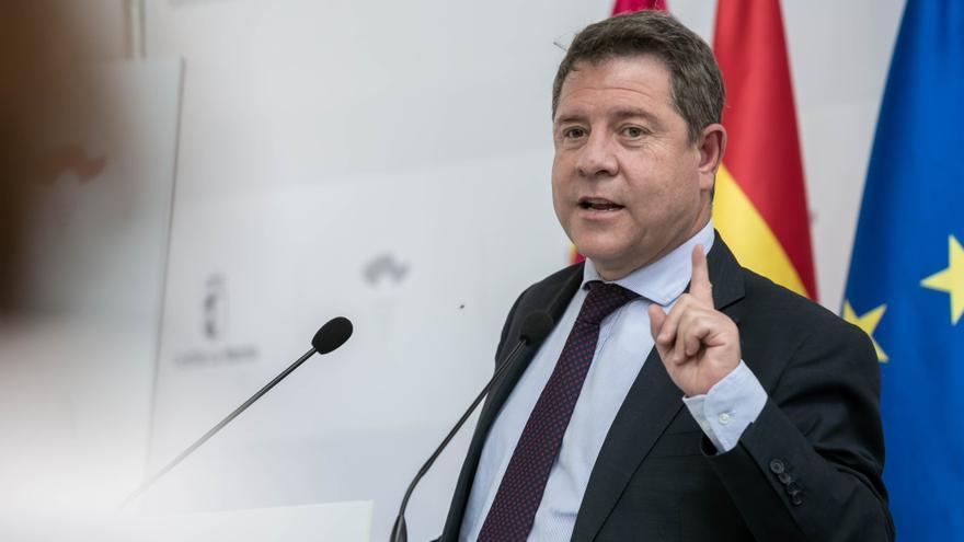El jefe del Ejecutivo regional, Emiliano García-Page,