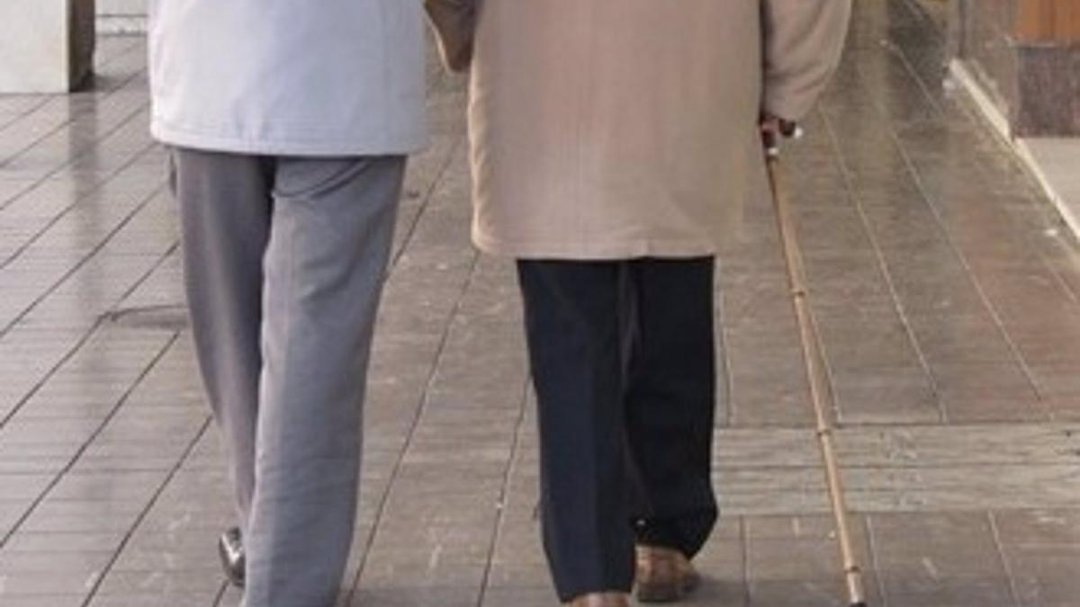 Imagen de recurso de un anciano.