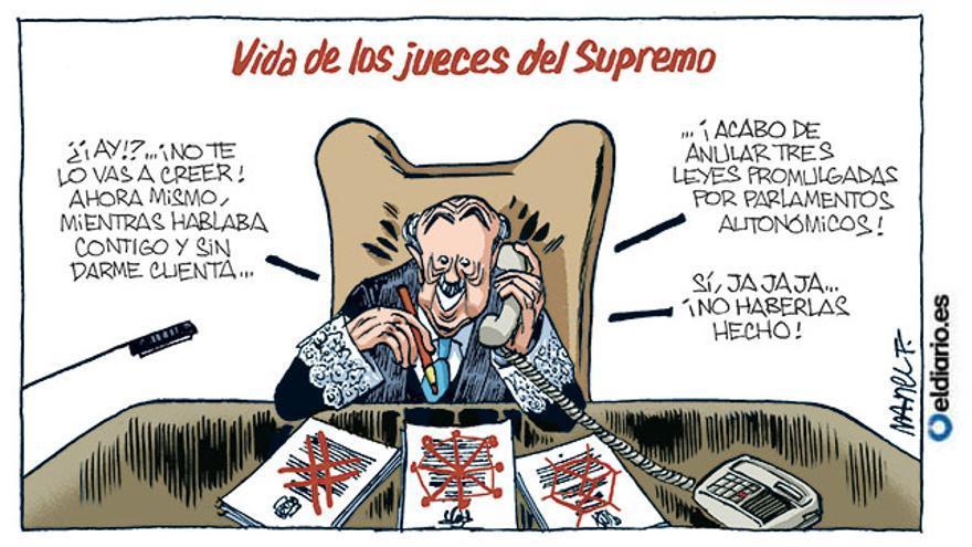 Vida de los jueces del Supremo