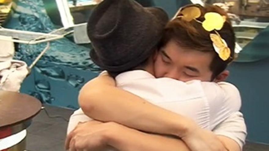 'GH': Han y Aritz entierran el hacha de guerra: 'Sigues siendo mi ganador'