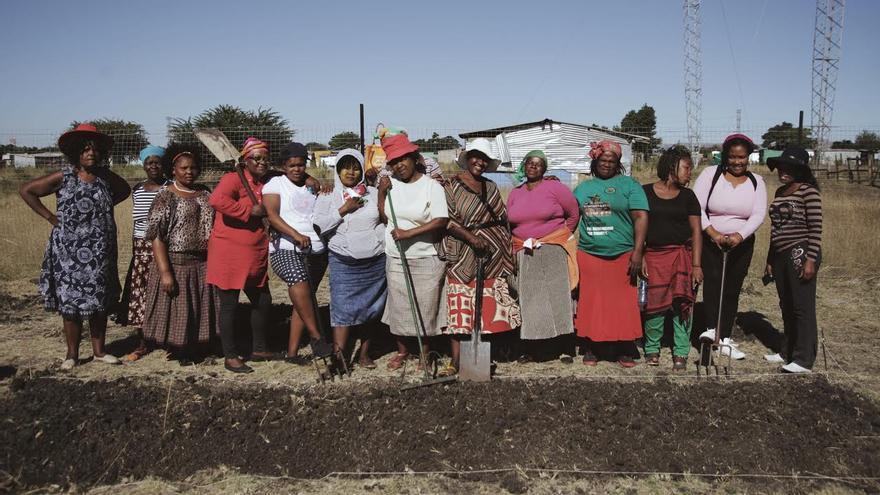 Las mujeres de Marikana.