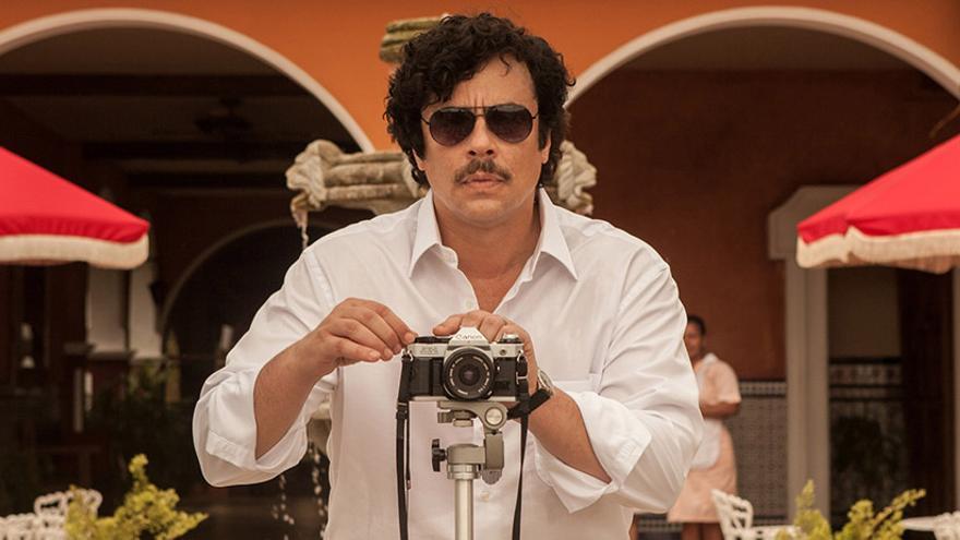 Benicio del Toro en 'Escobar, Paraíso perdido'