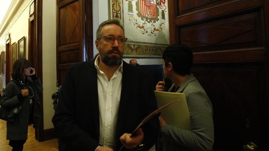 """Girauta sostiene que la moción de censura se inscribe """"en una disputa del espacio ideológico entre Podemos y el PSOE"""""""