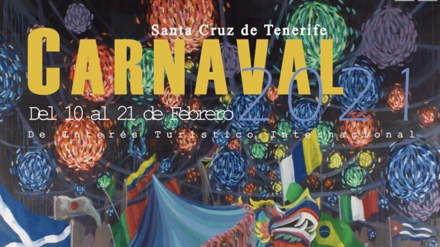 Tenerife tiene cartel oficial para el Carnaval virtual de 2021