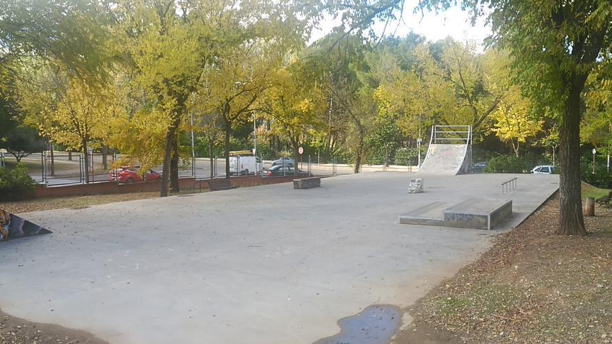 Pista de Skateboard en Guadalajara, una de las peor conservadas de España según los deportistas