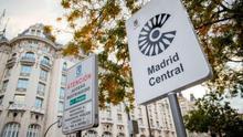 """Un estudio científico certifica que no existe """"efecto frontera"""" en Madrid Central."""