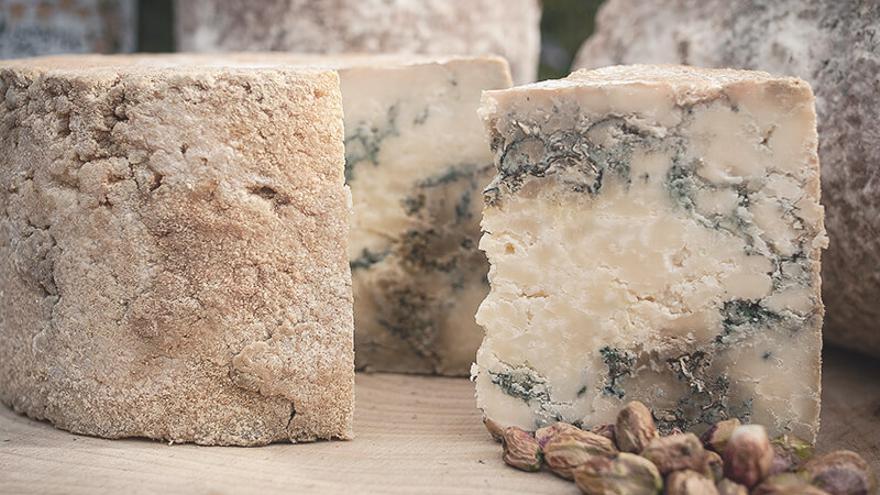Queso azul de quesería de la Jara