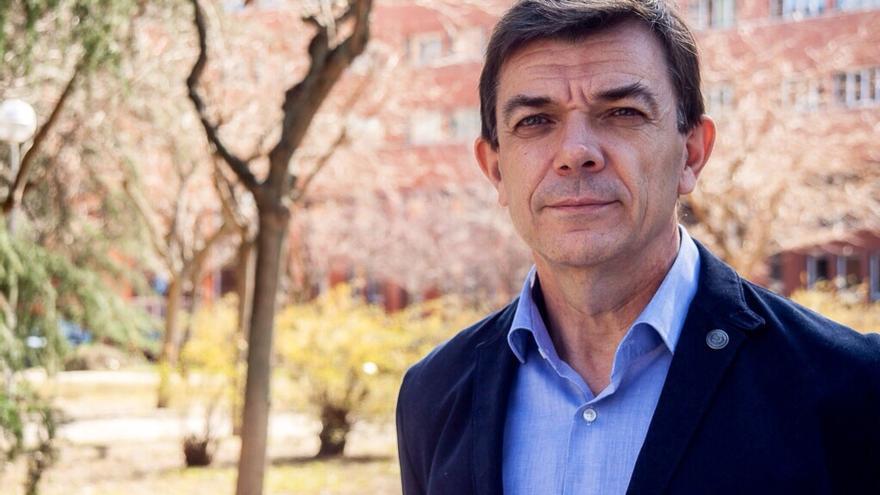 Carlos Andradas, candidato a rector de la Universidad Complutense de Madrid.