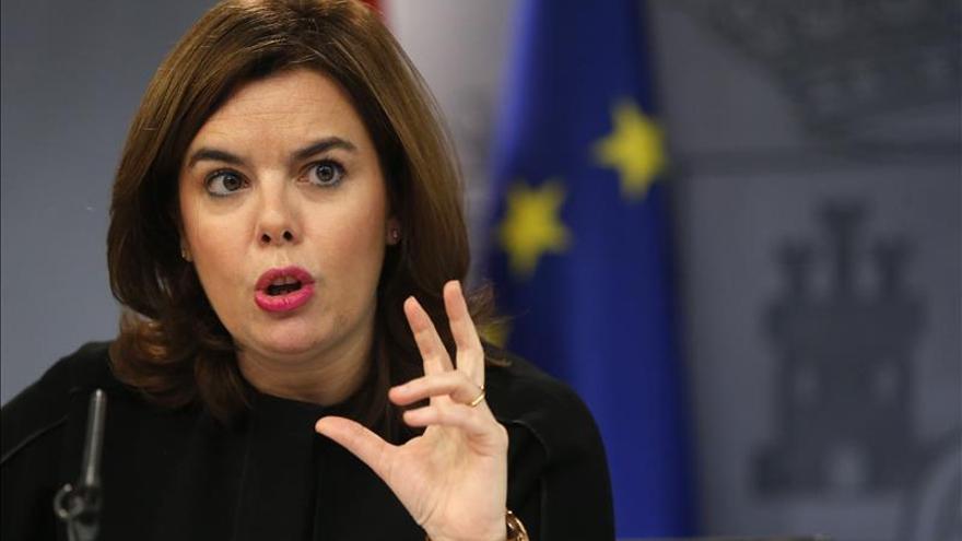 Santamaría ve difícil que el PSOE recupere la credibilidad tras sus pactos