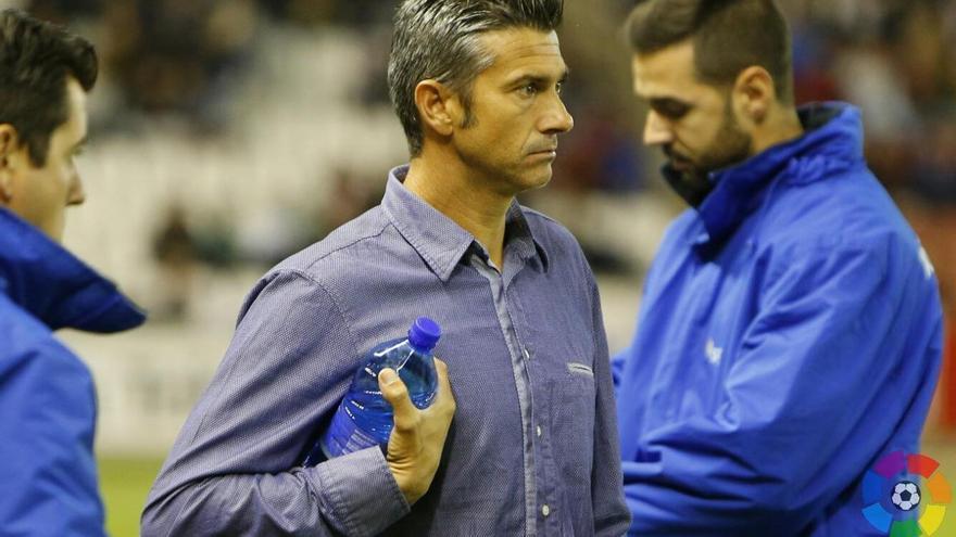 El entrenador del CD Tenerife Pep Martí (LALIGA).