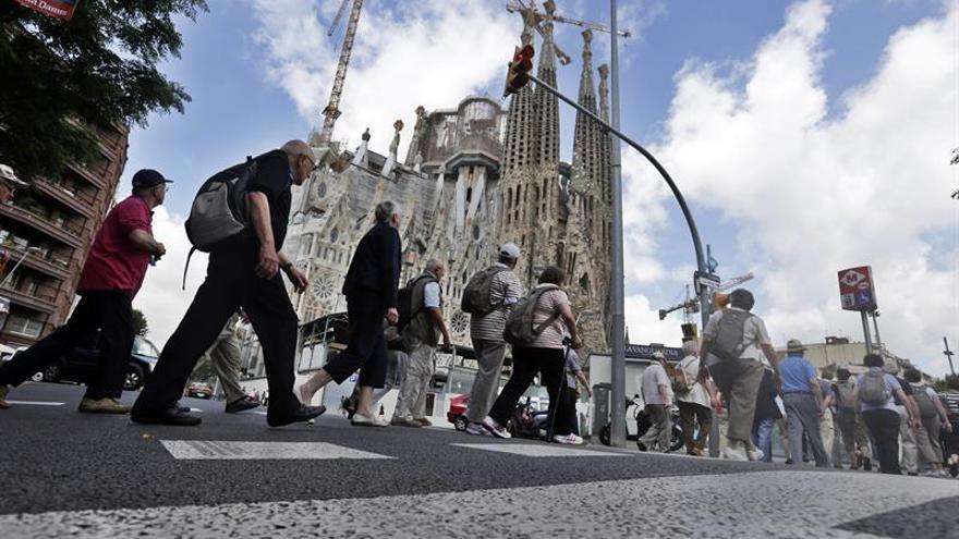 Estrenan una opereta cómica sobre el turismo de masas que invade Barcelona