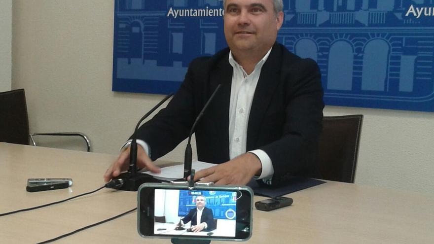El alcalde de Badajoz, Javier Fragoso