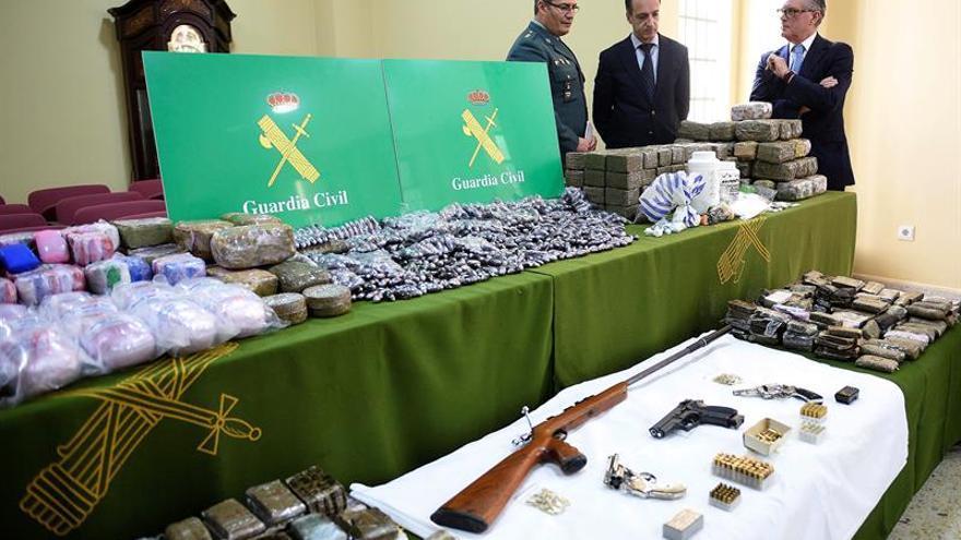 Desarticuladas 5 redes de tráfico de droga en Cantabria, Vizcaya y Guipúzcoa