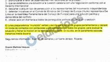 La embajadora en Suiza reclamó al Gobierno ayuda del CNI para investigar a la delegación de la Generalitat