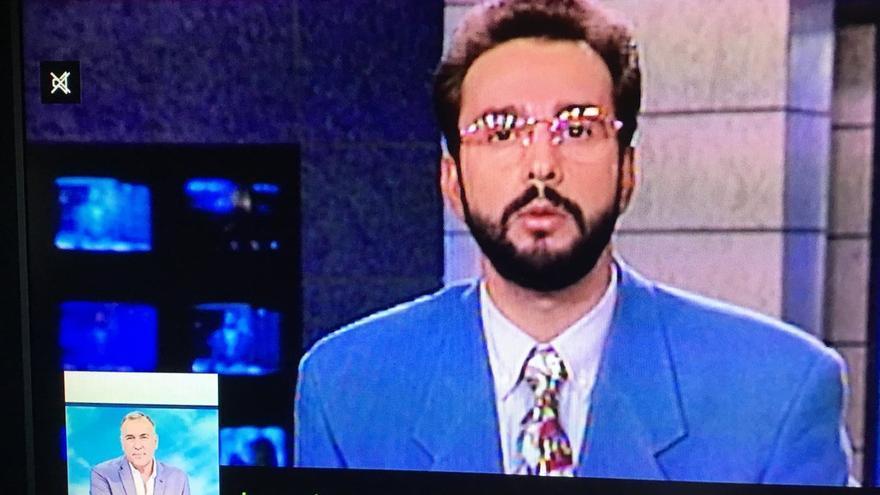 La imagen de Jenaro Castro en 1991 mostrada en Los Desayunos