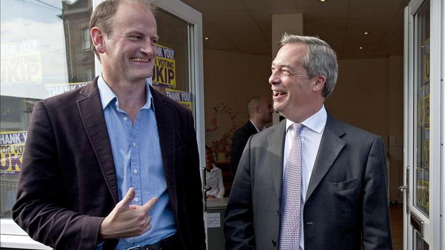 El único diputado del eurófobo UKIP descarta suceder a Farage como líder