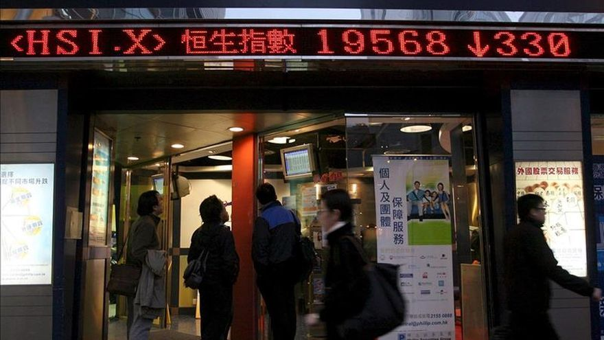 La Bolsa de Hong Kong sube el 0,02 por ciento en la apertura
