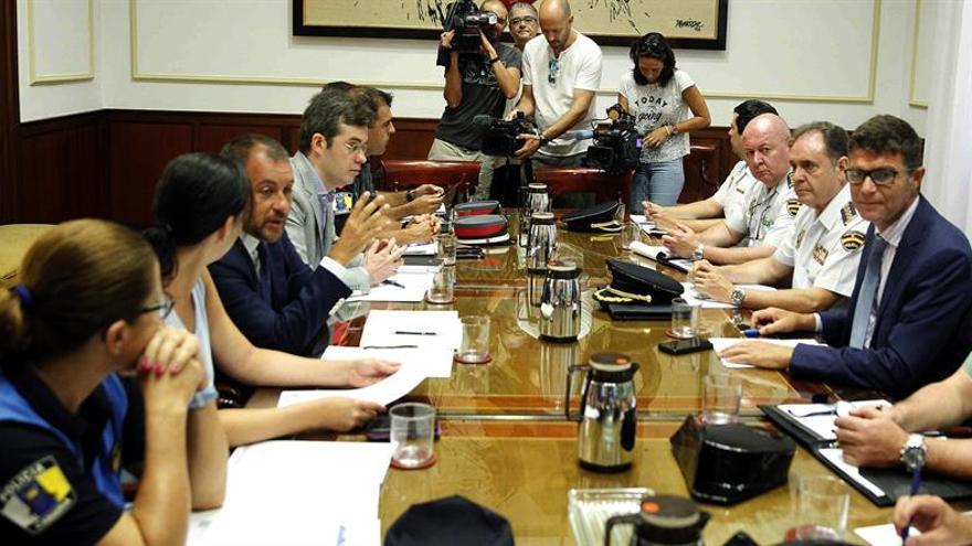 Reunión de este martes de la Junta Local de Seguridad, en Santa Cruz