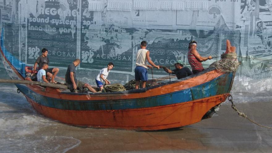 Parte de la muestra 'Mirar: un viaje', de la artista pamplonesa Belén Arévalo.