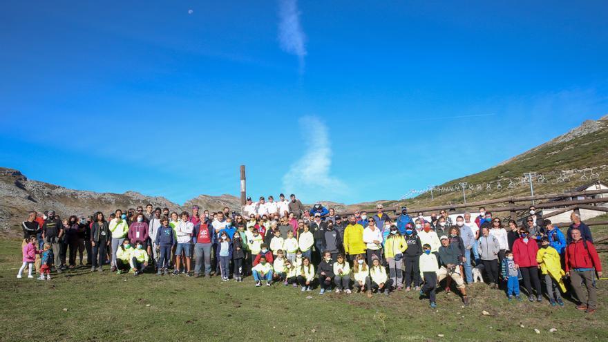 Campaña de recogida de residuos en Alto Campoo