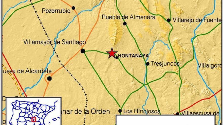 Terremoto en Hontanaya (Cuenca)
