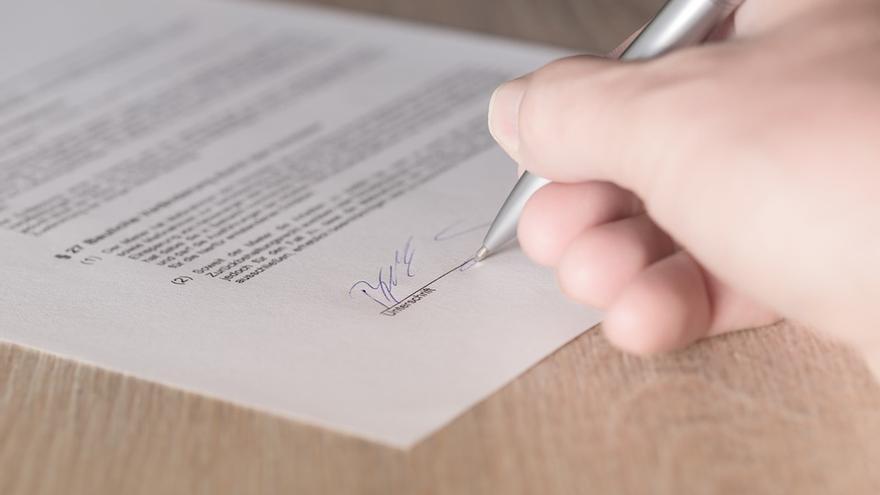 No hace falta boli: el 'smart contract' vive en la cadena de bloques