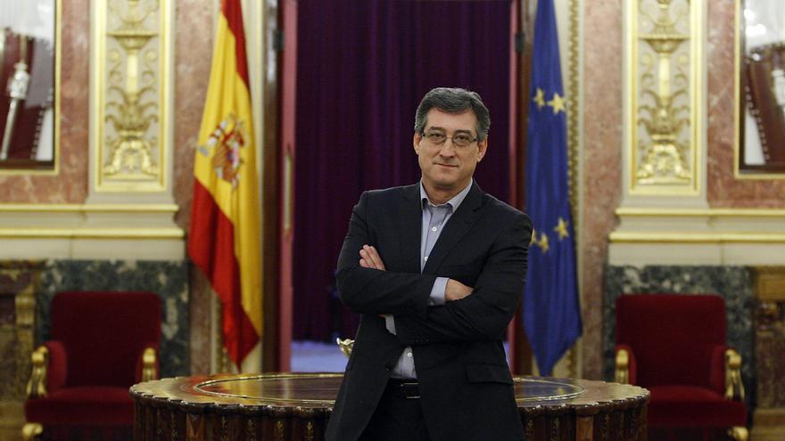 El diputado de Ciudadanos por Asturias Ignacio Prendes, secretario de la Mesa del Congreso.