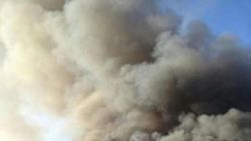 Incendio en el Centro Comercial Yumbo.