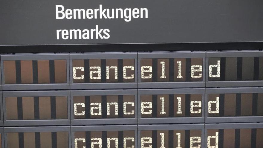 Lufthansa cancelará mañana cuatro vuelos en España por la huelga de pilotos