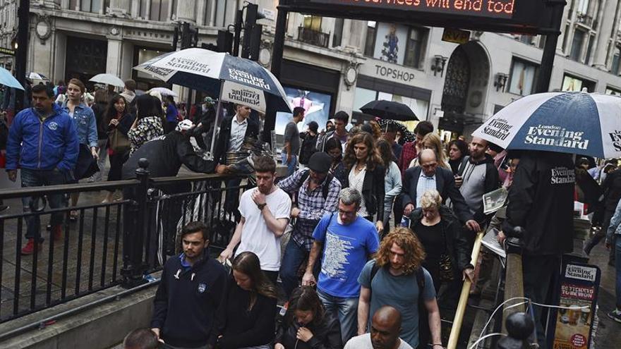 Conductores del metro de Londres irán a la huelga los días 6 y 7 de diciembre