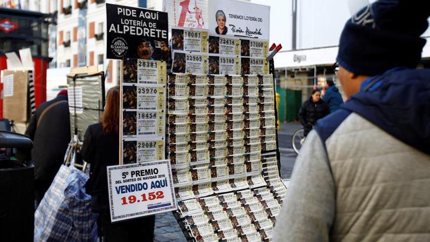 Las ventas de lotería crecen un 3,26 % y alcanzan los 2.760 millones de euros
