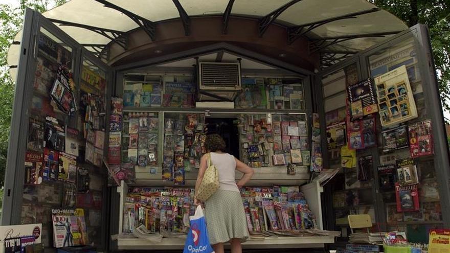 Un kiosco de prensa